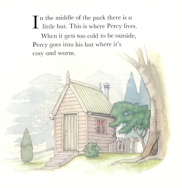 Image result for percy the park keeper hut