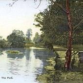 RP Beside the Lake c.1905