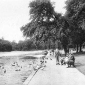 RP Beside the Lake c.1950