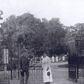 RP Entrance from Main Road c.1914