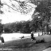 RP Looking across the Lake c.1950