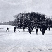 RP Skaters on the Lake c.1900